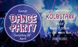 Easter Saturday Dance Party
