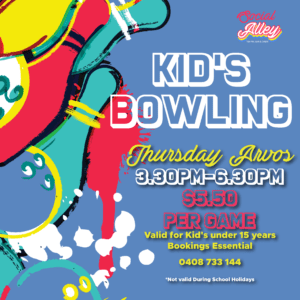 Social Alley Kid's Bowling Thursday Afternoons
