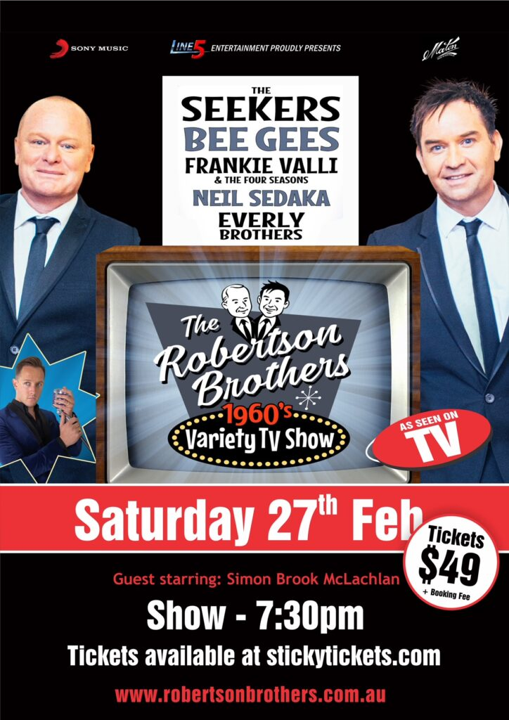 The Robertson Brothers - Saturday 27th February 2021