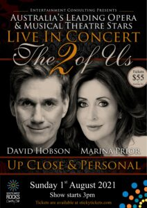 "Marina Prior & David Hobson ""The 2 of us'"